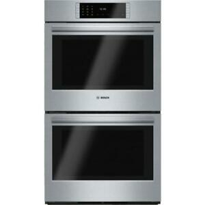 Bosch 800 Series HBL8651UC 30 Stainless Steel Double Wall Oven And Self Clean Both Oven City of Toronto Toronto (GTA) Preview
