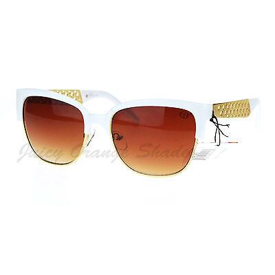 Womens Square Cateye Fashion Sunglasses Designer Club Top