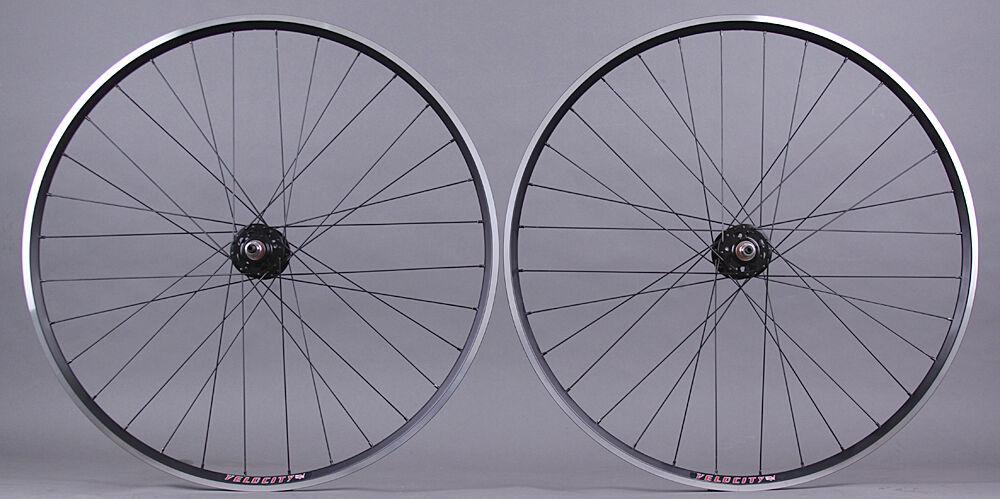 Wheel Master 700C Alloy Fixed Gear//Freewheel 2x Wall Bike Wheels//700//Rr//14