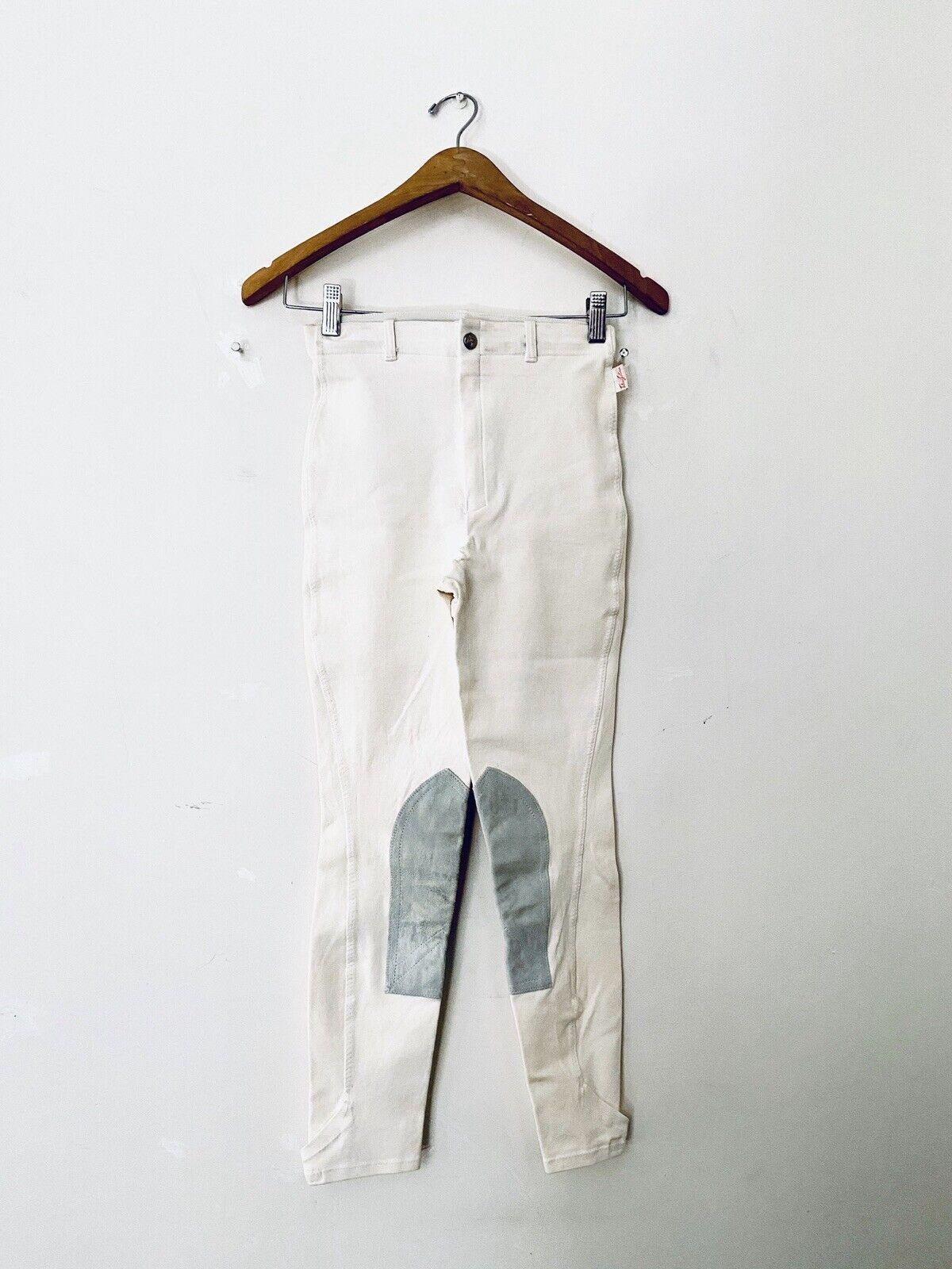 Vintage The Tailorosso sportuomo inglese equitazione Habits Pants fatto in USA Sz 24W
