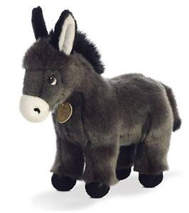 """11"""" Donkey Foal Plush Stuffed Animal Toy - New"""