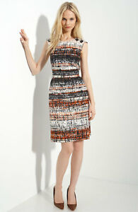 1100fbbc56 Image is loading Milly-039-Charlie-039-Crisscross-Back-Dress-Size-