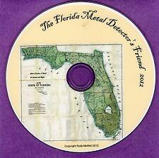 Florida Metal Detectors Friend Historical Research Treasure Hunters Guide