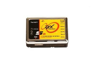 Newest!! Tarot 3-axis Flybarless Gyro ZYX-S2 with USB downloader adapter ZYX23