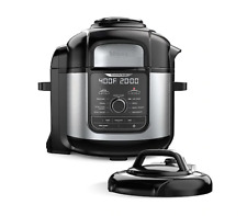 Ninja Foodi FD402 9-in-1 Deluxe XL Air Fryer - Black Stainless Steel