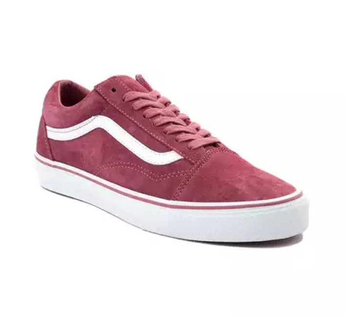 New Vans Vans Vans damen Old Skool Lace Up rot Blau Rosa Suede Leather schuhe 5.5 - 12.5 b869e3