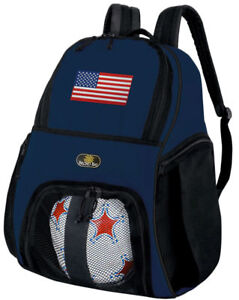 Image Is Loading Usa Soccer Bag Or Volleyball Backpack Team