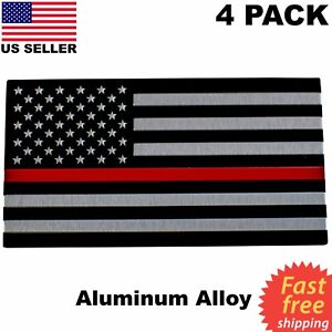 """1-10/"""" Thin Blue Red Line American Subdued Flag Decal USA Police Fire Sticker R"""