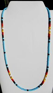 American-Apache-Indian-Necklace-Bracelet-TURQUOISE-SUNBURST-unisex-ALL-SIZES