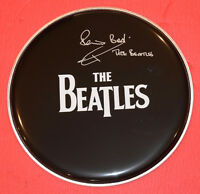 Pete Best Signed Autographed Drumhead The Beatles Exact Proof Drummer B