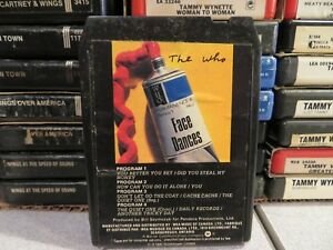 THE-WHO-Face-Dances-8-Track-Tape