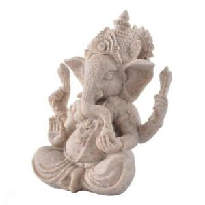 Details about The Sand Stone Statue Hand Carve Culture Sculpture Figurine  Elephant Buddha