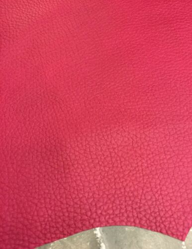Pink Genuine Lamb Skin Hides Real Leather Soft Thin Upholstery Craft Fabric 902