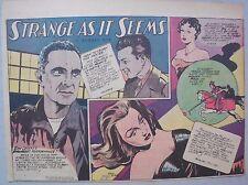 Strange As It Seems: Sam Levene, Francis La Chette in Hollywood by Hix 11/4/1945