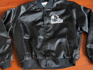 Image is loading Vtg-80s-Chalkline-Pittsburgh-Steelers-Football-Patch-Black- ba4e5c555