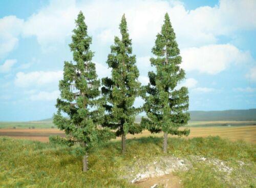 Heki 2126 Fichten 3 Fichten Baum Nadelbaum H0 TT N 17 cm Neu