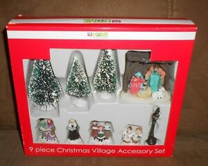 image is loading rite aid 9 pc religious christmas village accessory