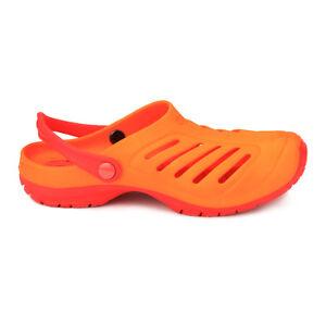 Cloggens 44 46 Rot Cloggs Sandalen Badeschuhe Schwimmschuhe Strandschuhe