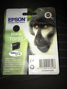 GENUINE EPSON  Black cartridge ORIGINAL SEALED OEM  INK - RENFREWSHIRE, Inverclyde, United Kingdom - GENUINE EPSON  Black cartridge ORIGINAL SEALED OEM  INK - RENFREWSHIRE, Inverclyde, United Kingdom