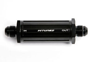 K-Tuned UNIVERSAL Inline Fuel Filter -8AN (30 micron) Honda & Acura