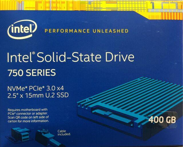 2.5in PCIe 3.0 MLC NEW RETAIL 20nm Intel SSDPE2MW400G4X1 SSD 750 Series 400GB