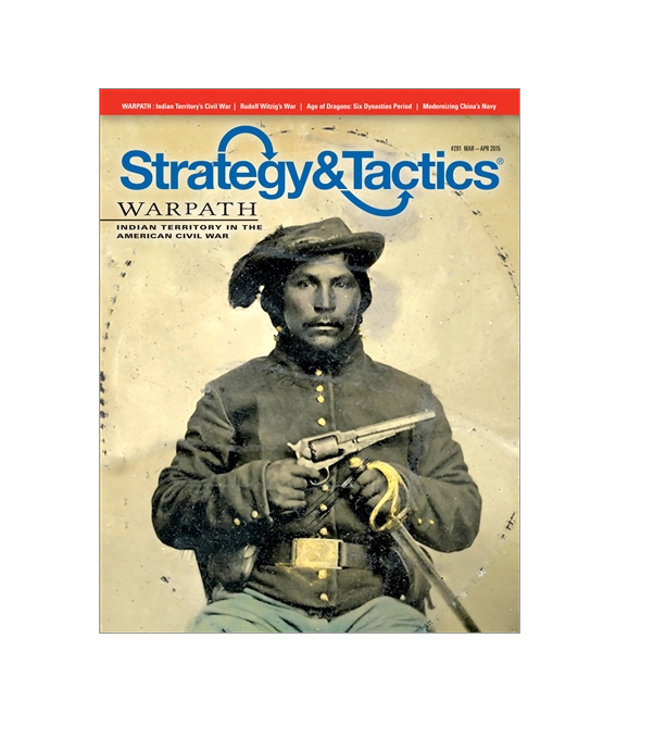 Strategy & Tactics Magazine  291 w  Warpath, NEW