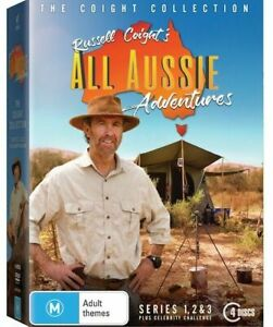 Russell-Coight-039-s-All-Aussie-Adventures-Series-SEASON-1-2-3-CELEBRITY-NEW-DVD