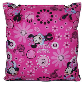 Minnie-Mouse-Pillow-Spring-Minnie-Pillow-New-HANDMADE-In-USA-Travel-Daycare
