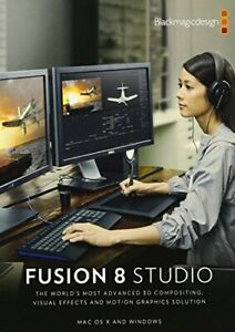 Blackmagic Design Fusion 8 Studio For Windows Usb Memory Stick Windows 9338716002935 Ebay