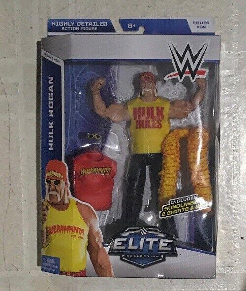 Mattel WWE Elite 34 HULK HOGAN