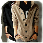Hot Men's knitted Slim Fit Casual Jumper Cardigan Long Sleeve Outdoor Coat 66s