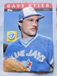 1985 Topps 3d Baseball Stars Card Dave Stieb Blue Jays 20