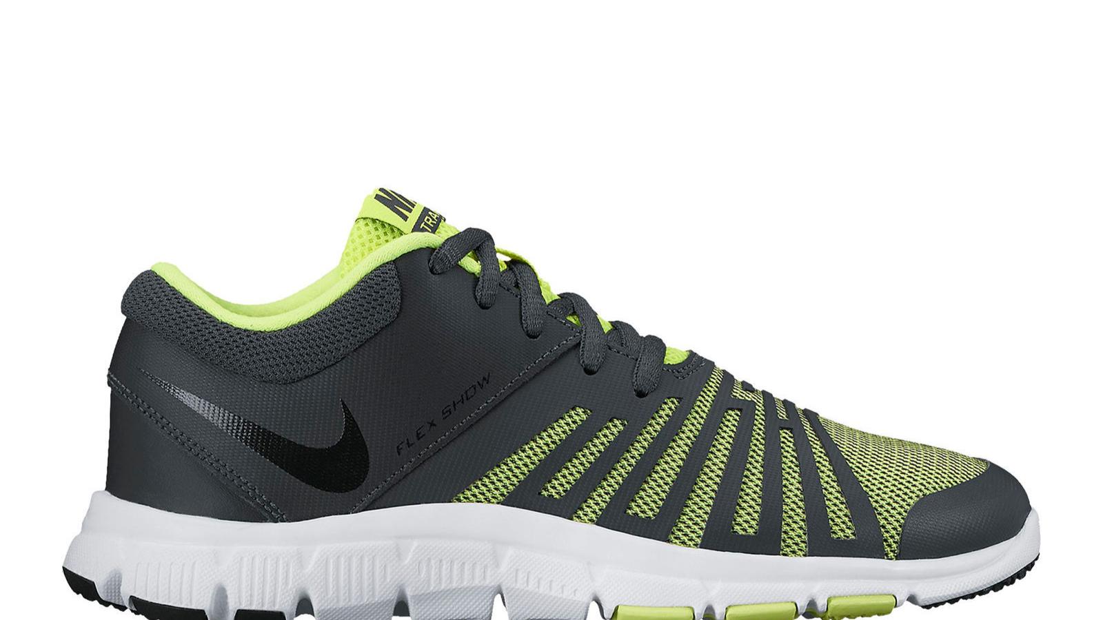0f1b637b336e Nike Boy s Flex Show TR 5 Athletic Shoe 4 Grey volt for sale online ...