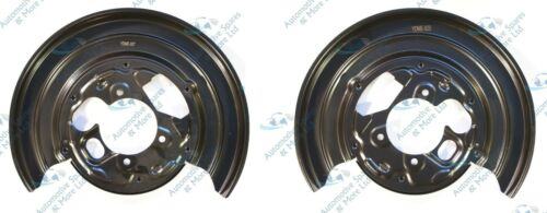 Mercedes Sprinter VW Crafter New 2x Rear Brake Disc Dust Cover Plate Shield Pair