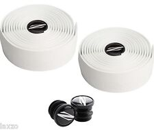 Zipp TT road bike Service Course Bar Tape white Handlebar Cycling  + End plugs