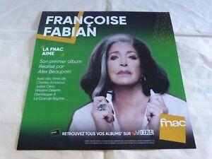 Francoise-Fabian-Premier-Album-Plv-30-X-30CM