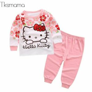e2abc9d24 Baby Girl Hello Kitty Clothing Set Infant Clothes Newborn Clothes ...