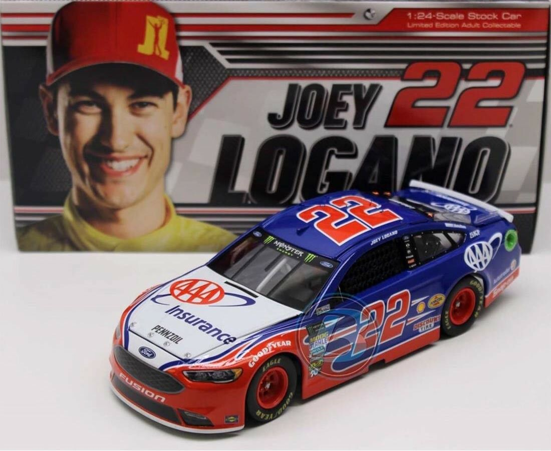 ahorrar en el despacho  22 ford NASCoche 2018  AAA insurance    Joey Logano - 1 24 Lim.  costo real