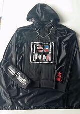 Adidas Originals x Star Wars Darth Vader Zip Hood. SIZE -S
