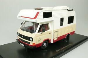 VW-VOLKSWAGEN-T3-KARMANN-GIPSY-CAMPER-1983-DEUTSCHLAND-1-43-AUTOCULT-09008-NEU