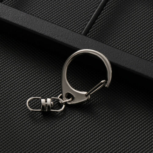 Making Accessories Key Chain Ring Split Ring  Snap Hook Metal Swivel Trigger