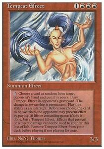 1x Tempest Efreet 4th Edition MtG Magic Red Rare 1 x1 Card Cards