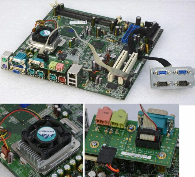 Board Carte Mère Fsc Fujitsu pos-d855gme REV 3.3 Incl. CPU 1500 MHz + Audio fsc19