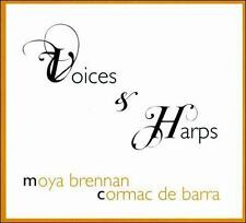 VOICES & HARPS by Moya Brennan and Cormac de Barra - NEW SEALED CD Celtic Music