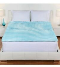 Twin Size Orthopedic Foam Mattress Firm Bed Topper Gel Pad 2 Inch Cover