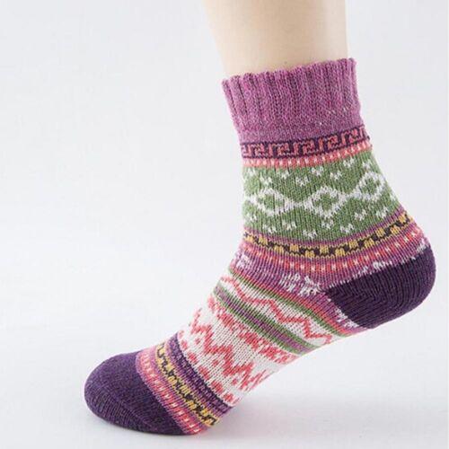 Winter Thermal Cashmere Socks Women Warm Rabbit Wool Socks Thicken soft New