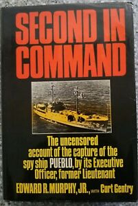 Edward-Murphy-Second-in-Command-The-Uncensored-Account-Signed-1st-Edition-1971