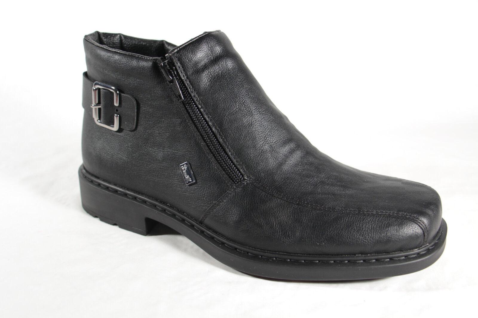 Rieker Herren Stiefel Stiefelette 32861 Stiefeletten Boots schwarz TEX 32861 Stiefelette NEU 70f044