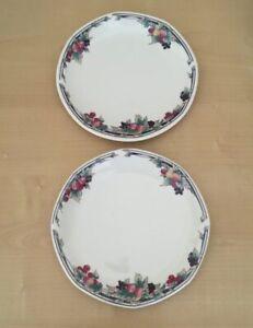 Royal-Doulton-Autumn-039-s-Glory-PAIR-2-TWO-6-1-2-034-Side-Tea-Plates-1st-Quality