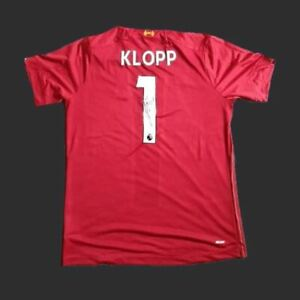 Jürgen Klopp Liverpool 19/20 Signed Shirt